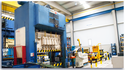 Automatic press lines - 500T Mechanical Press