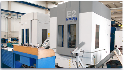 NC Machining Centres - 2 x CNC High-Speed Machining Centres
